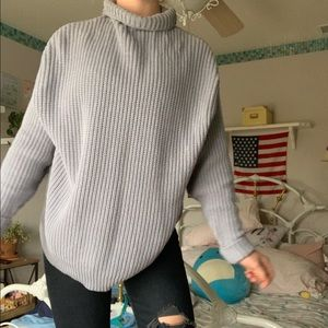 Over Sized Turtle Neck Sweater